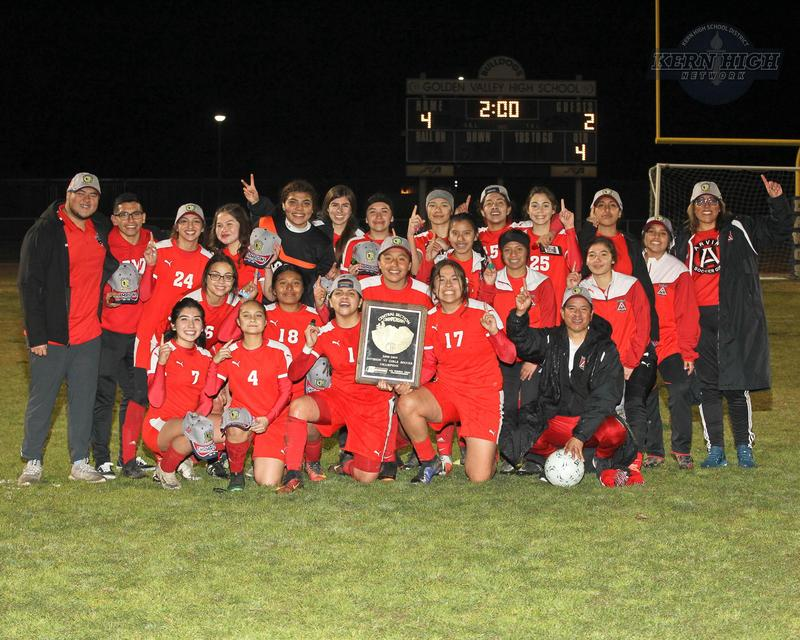 Arvin High Girls Soccer advances to Semi-Finals Thumbnail Image