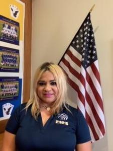 Blanca Martinez, ESHS custodian