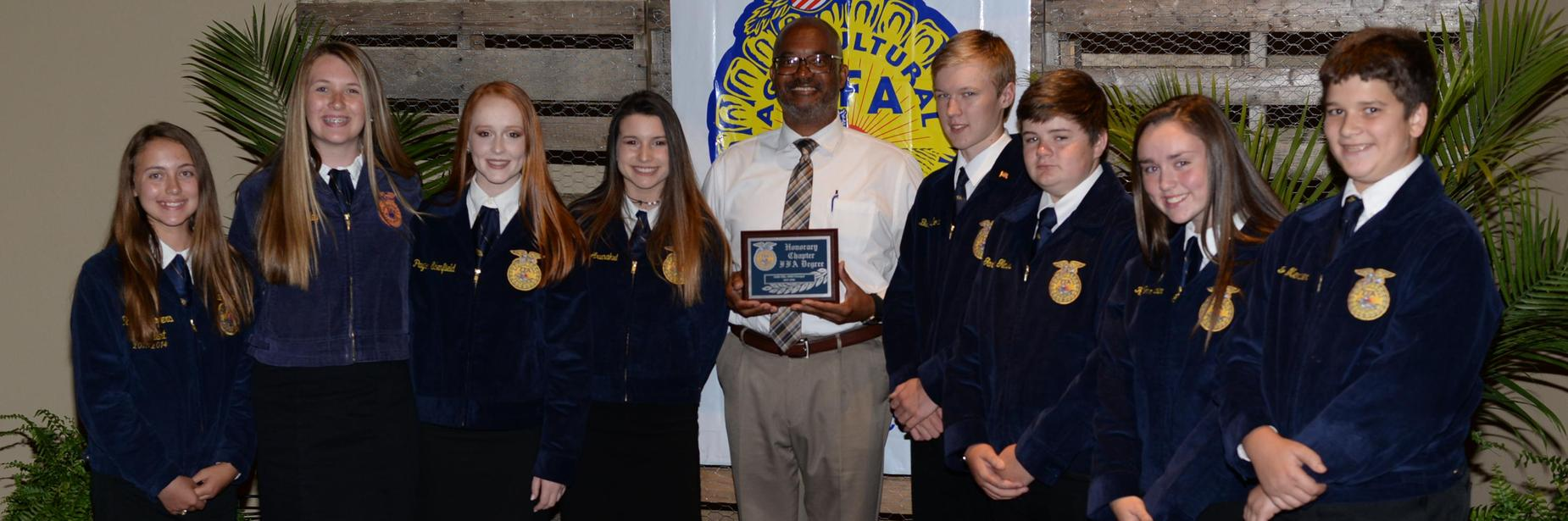 mms principal and ffa students