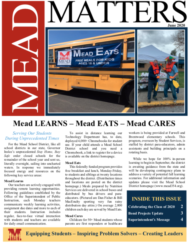June 2020 Mead Matters Cover Page