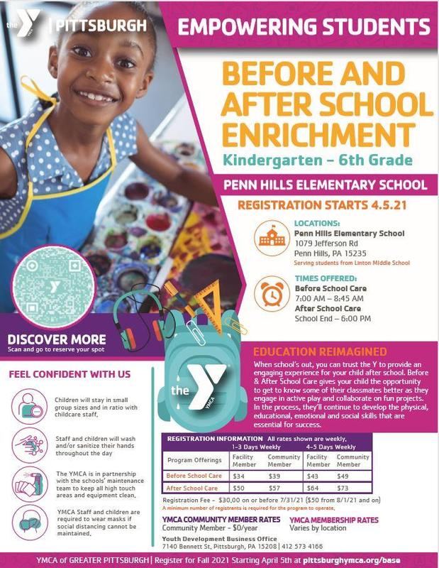 YMCA program details