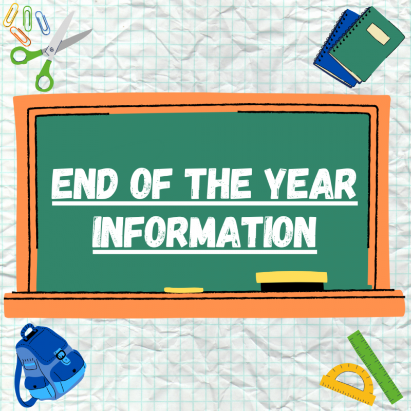 End of the Year Clip art Image