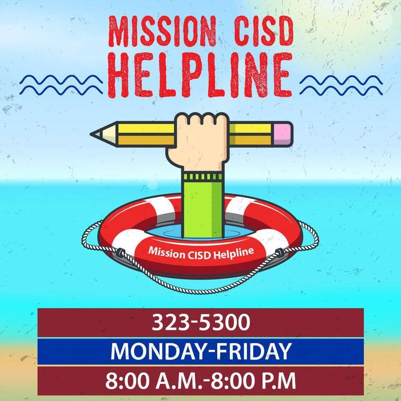Mission CISD Instructional Hotline Featured Photo