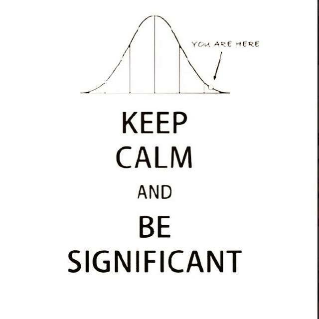 Keep Calm and Be Significant