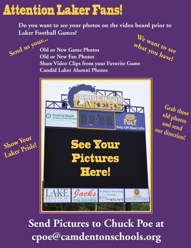 Laker Football Games - Score Board Featured Photo