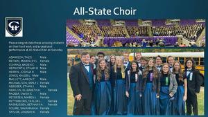 CHHS All-State Choir