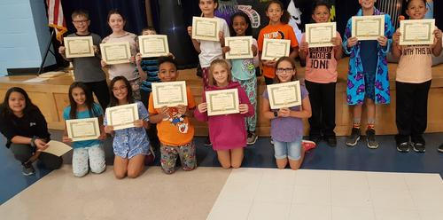 5th Grade Principal Honor Roll