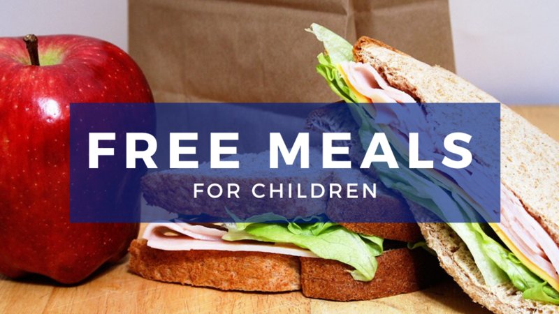 FREE MEALS FOR CHILDREN During School Closures Featured Photo