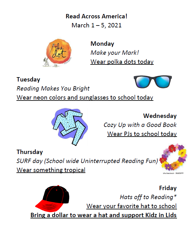Dress up days English