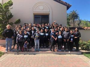 Students at Santa Clara University.
