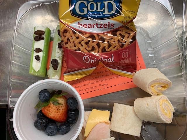 poppy lunch