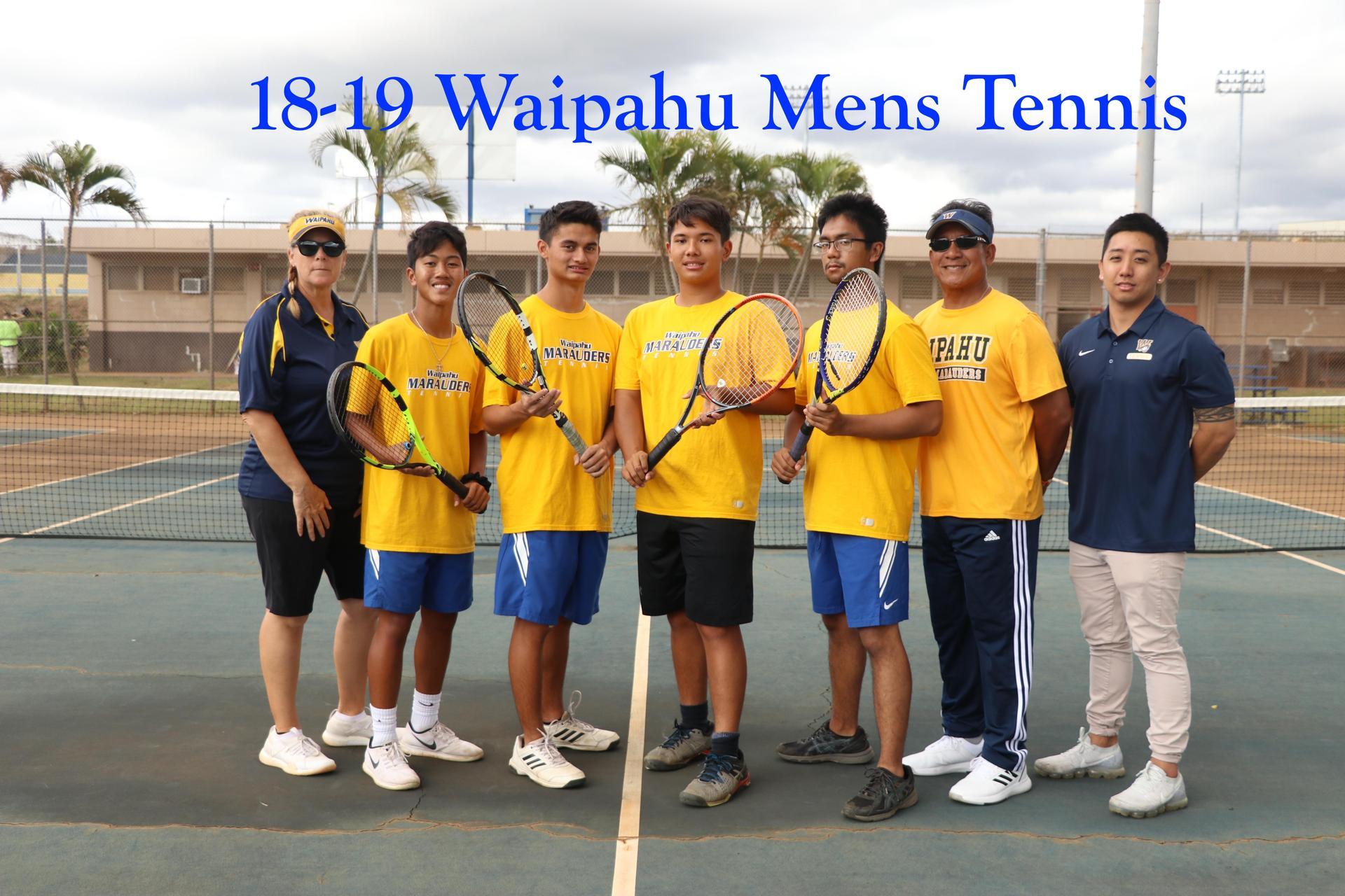 18-19 Tennis Boys Varsity