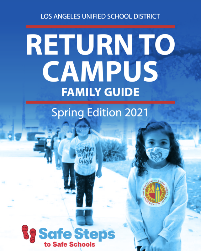 Return To Campus Family Guide English / Spanish Featured Photo