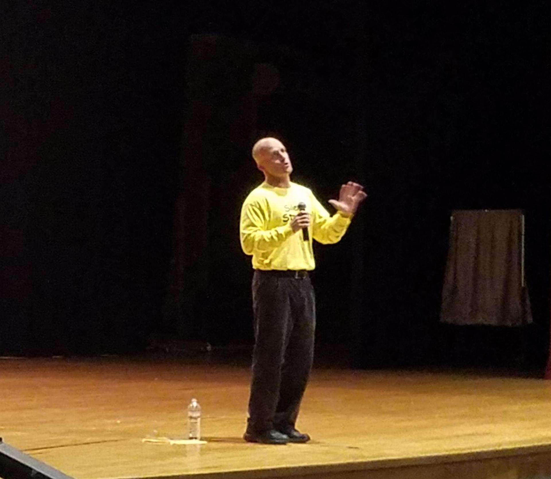 Doug Reavis speaks about choosing kindness.