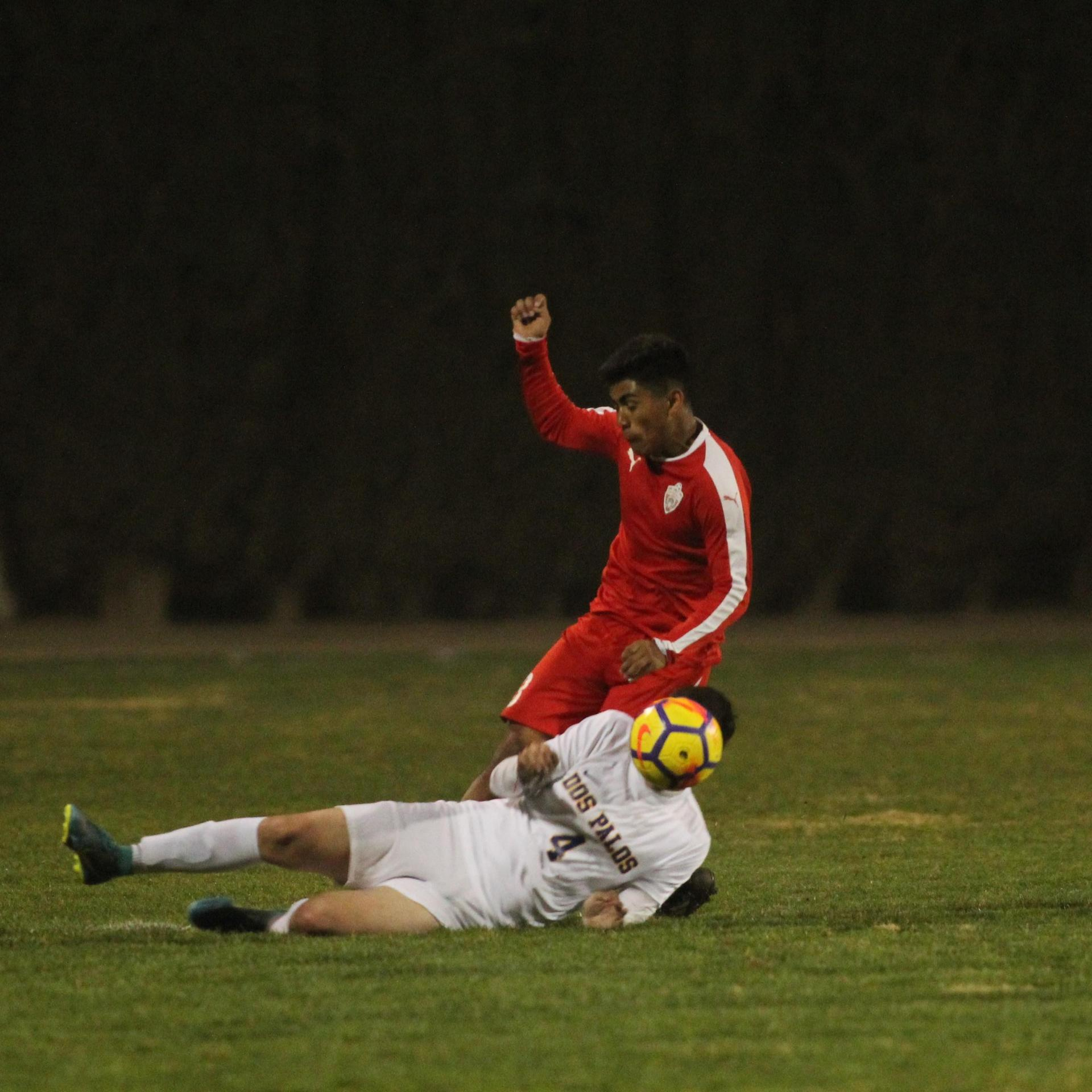 Alejandro Montes Getting the Ball Taken from Him