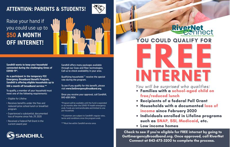 Area providers to provide internet for families Featured Photo