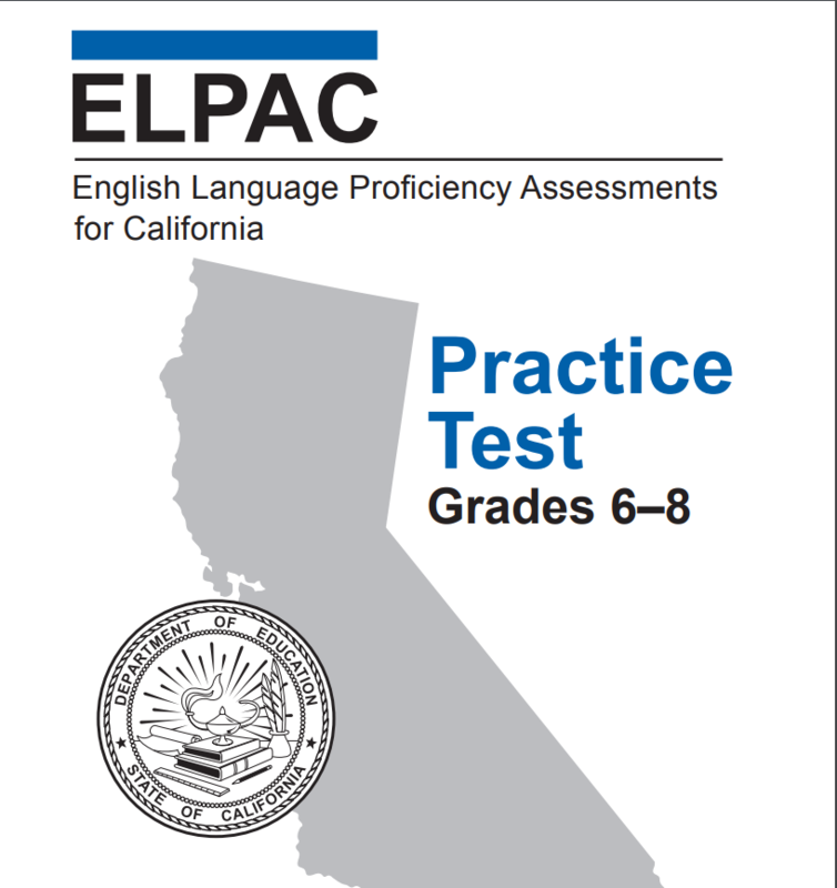 ELPAC Practice Test Featured Photo