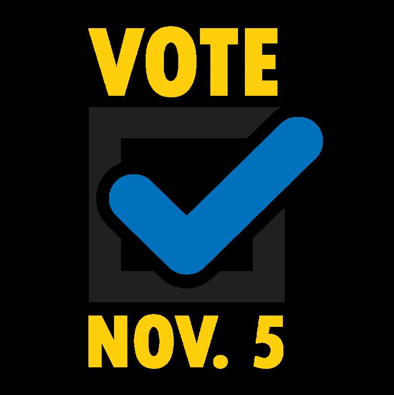Vote Nov. 5 sign