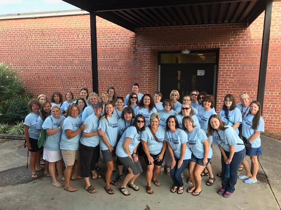 Teachers Ready for SOAR bus tour
