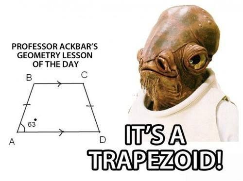 Professor Akbar's Geometry Lesson: It's a Trapezoid!