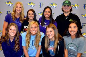 FHS Student Athletes College Signees