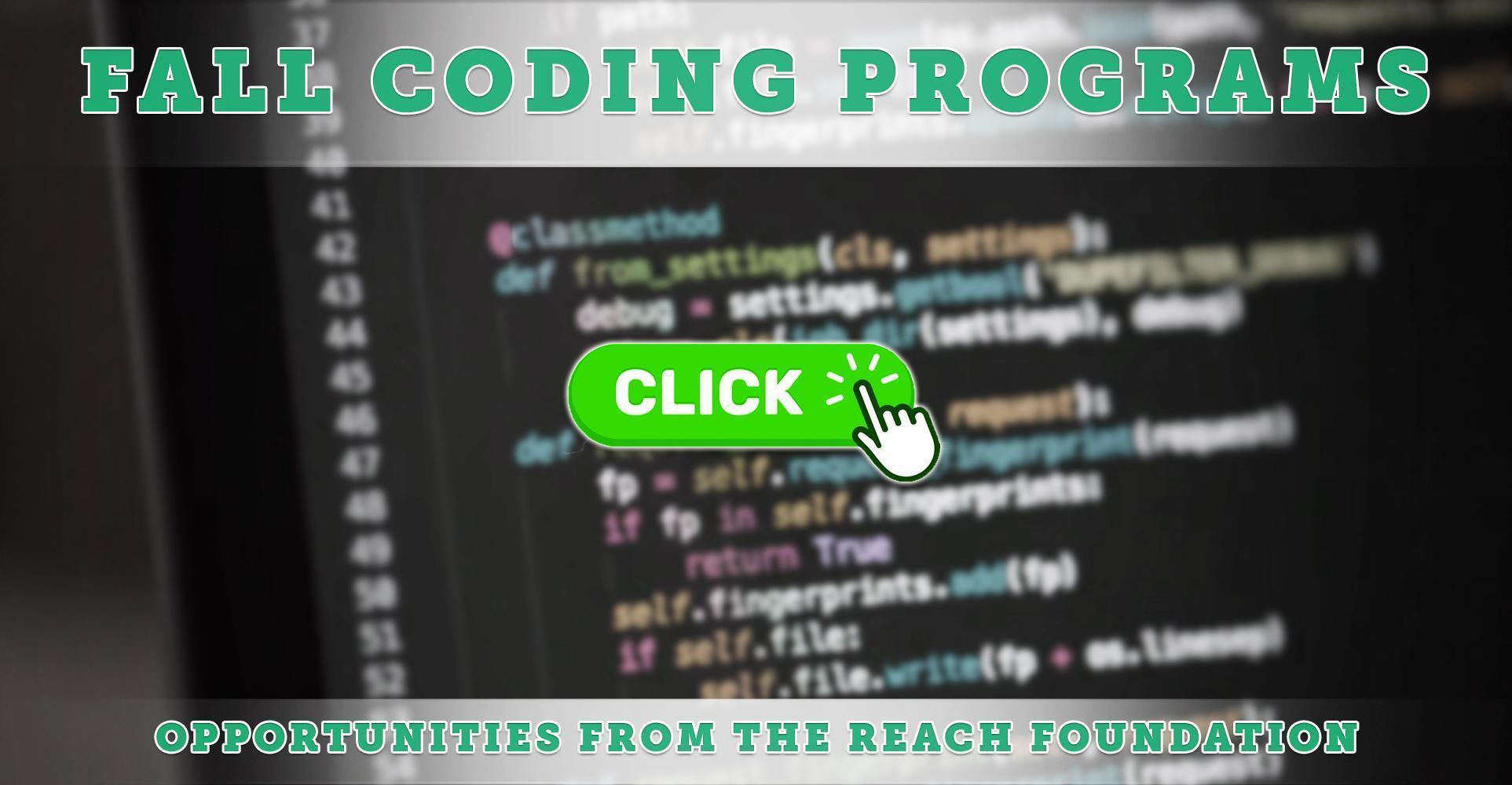 The REACH Foundation & The CoderSchool: Two 6-Week Coding Programs Coming This Fall