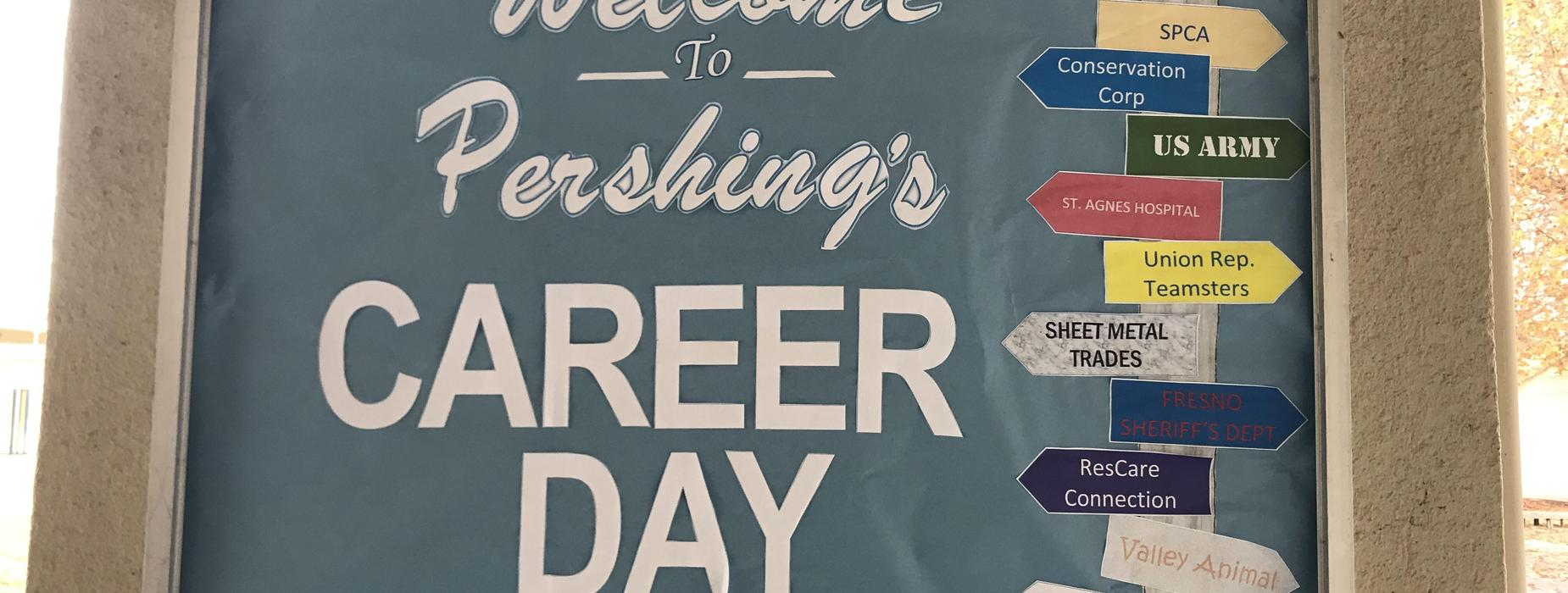 Pershing Career Day