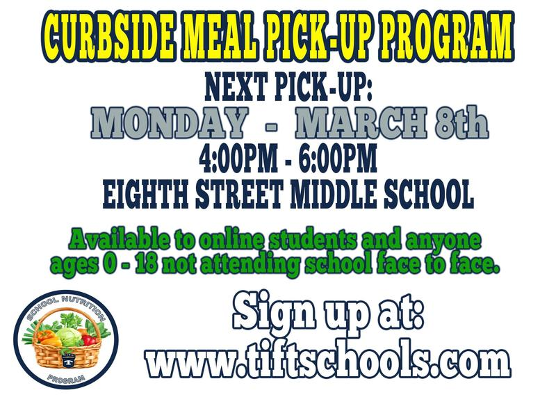 Curbside Meal Pickup for Online Learners - Monday, March 8th Featured Photo