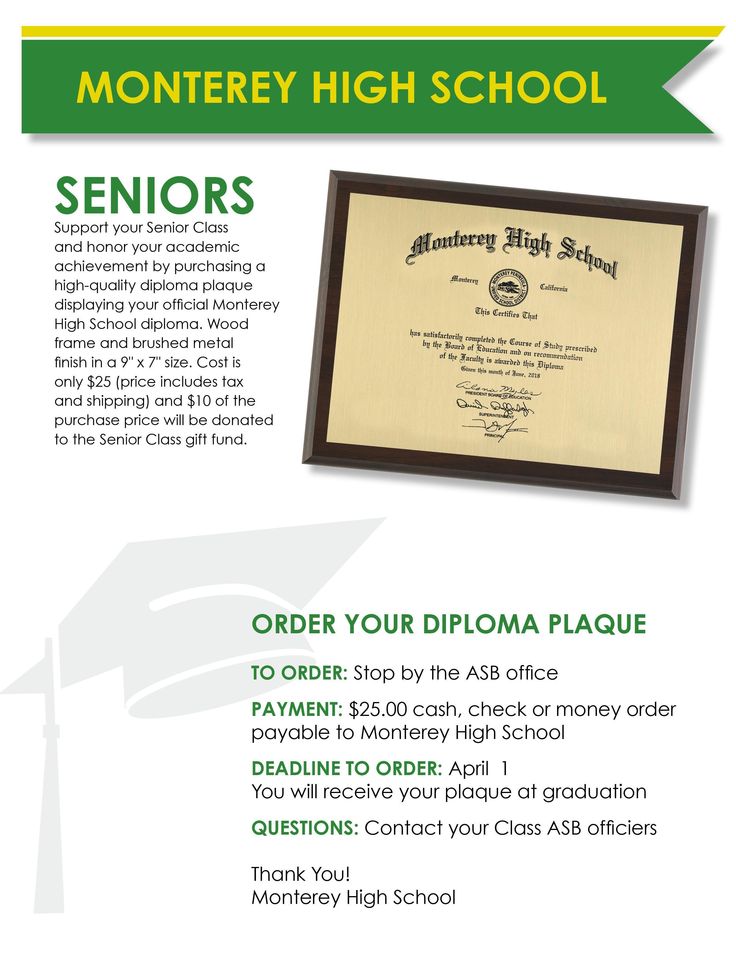 MHS Diploma