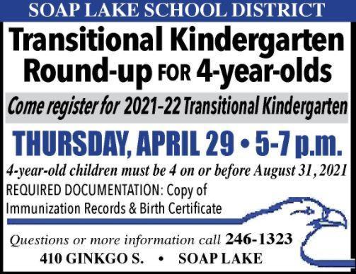 2021 Transitional Kindergarten Roundup Thumbnail Image