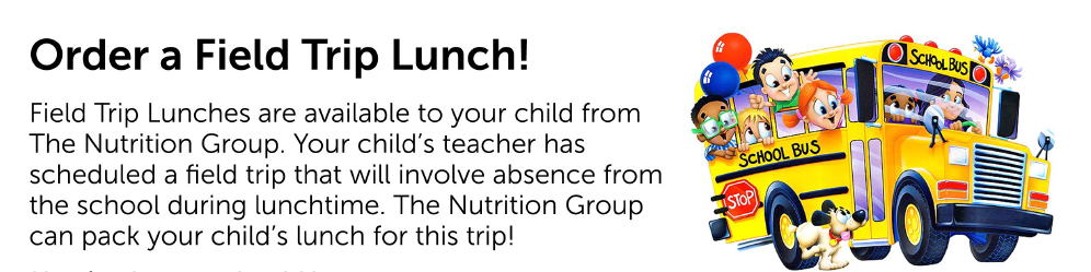 Field Trip Lunches