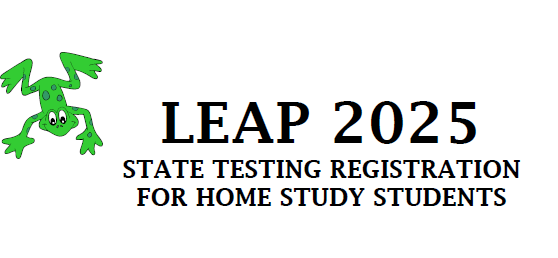 LEAP 2025 Registration Information for Home Study Students Thumbnail Image