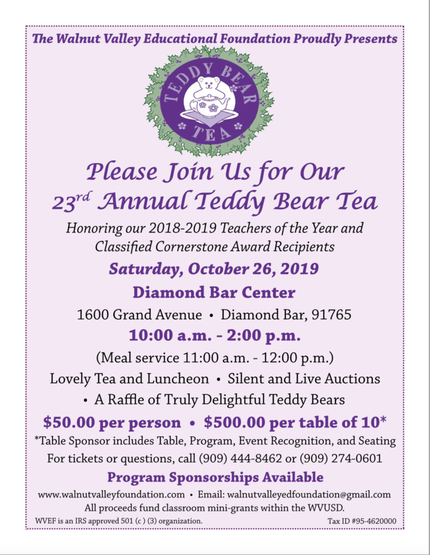 Teddy Bear Tea, October 26th Featured Photo