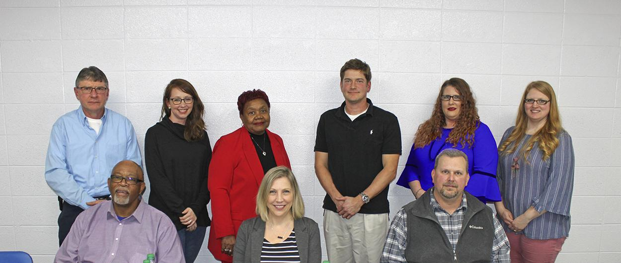 Charleston R-I Board of Education Members, February 2019