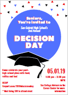 Seniors you are invited to Decision Day! Featured Photo