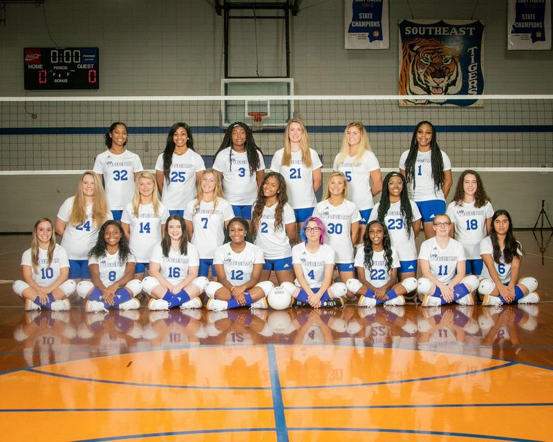 Southeast High School 2020 Volleyball Team