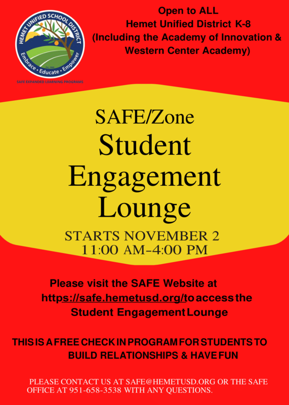 student engagement lounge