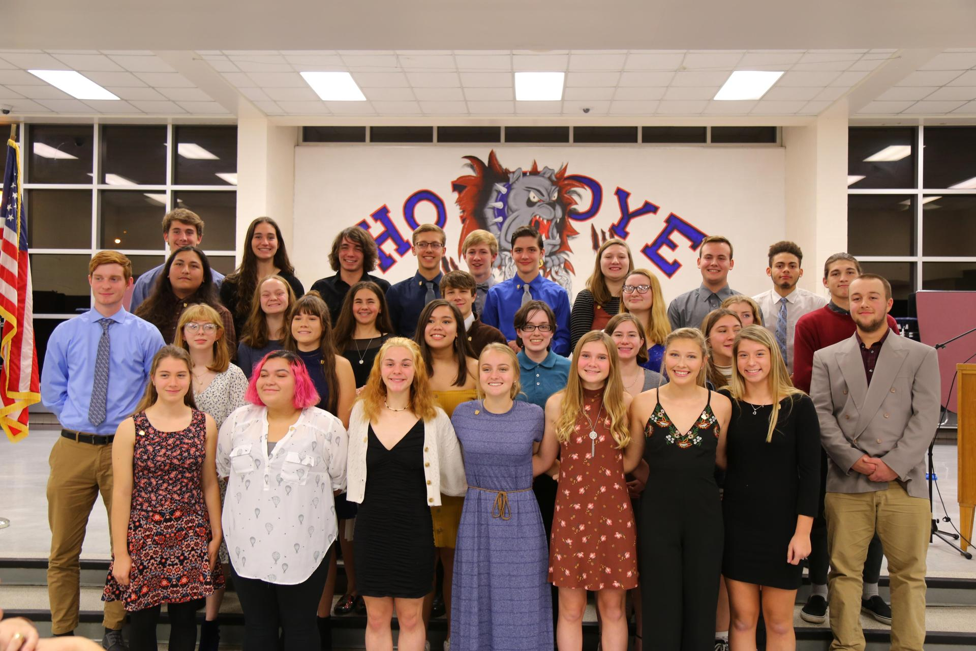Fall Induction 2019