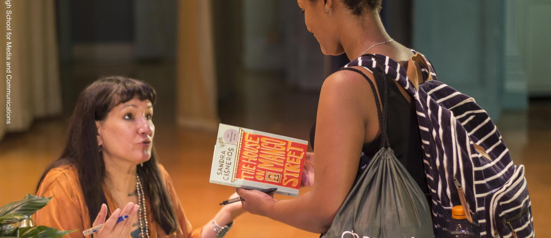 What it Takes Lecture and book signing with author Sandra Cisneros.