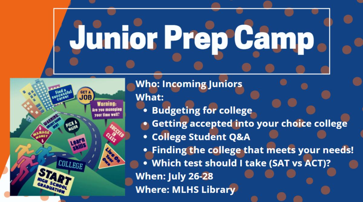 Junior Prep Camp: July 26-29