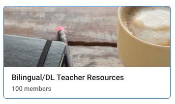 Bilingual/DL Teacher Resources on Google Drive