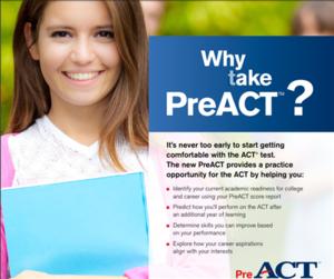 PreACT flyer
