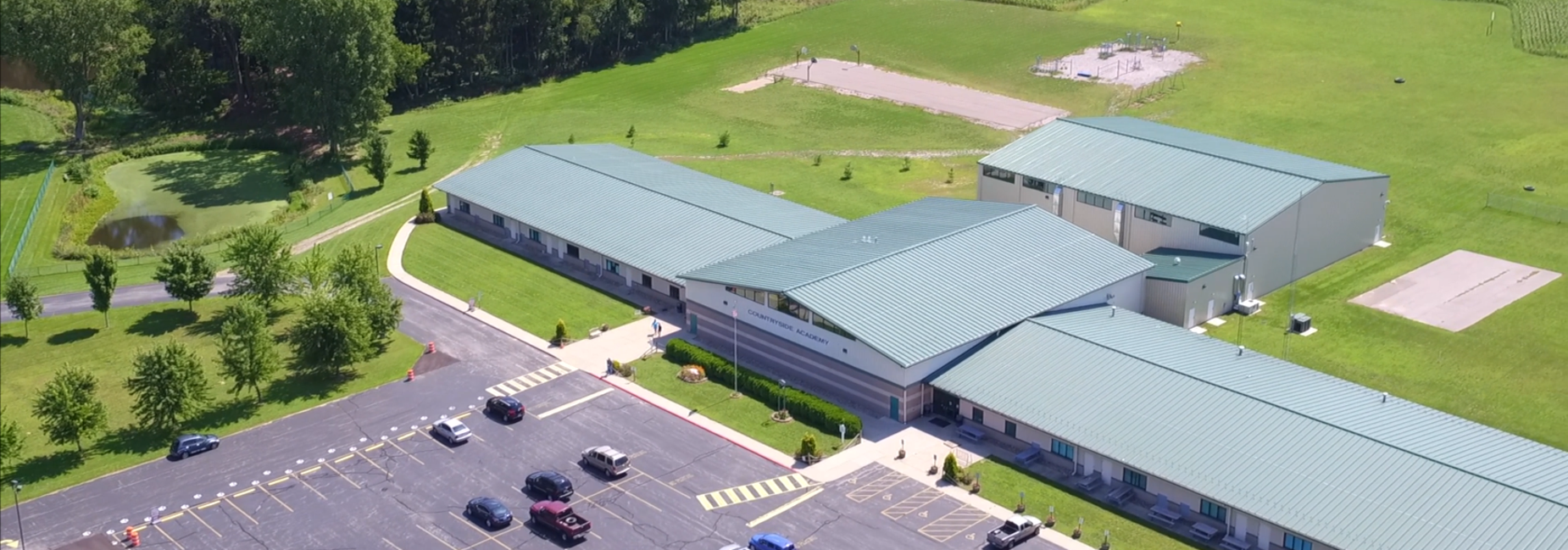 Aerial Photo of Countryside Academy