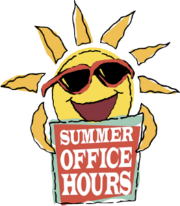 Summer Office Hours Clip Art