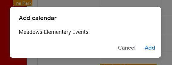 google calendar add
