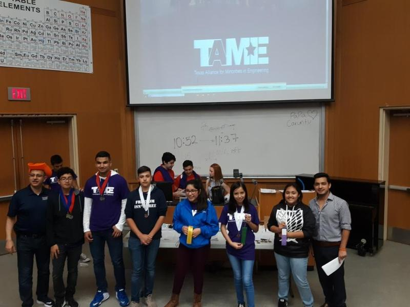 Mozart Secondary Students earn many awards from the TAME Competition! - Advance to State! Featured Photo