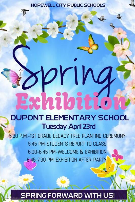 Dupont Exhibition flyer