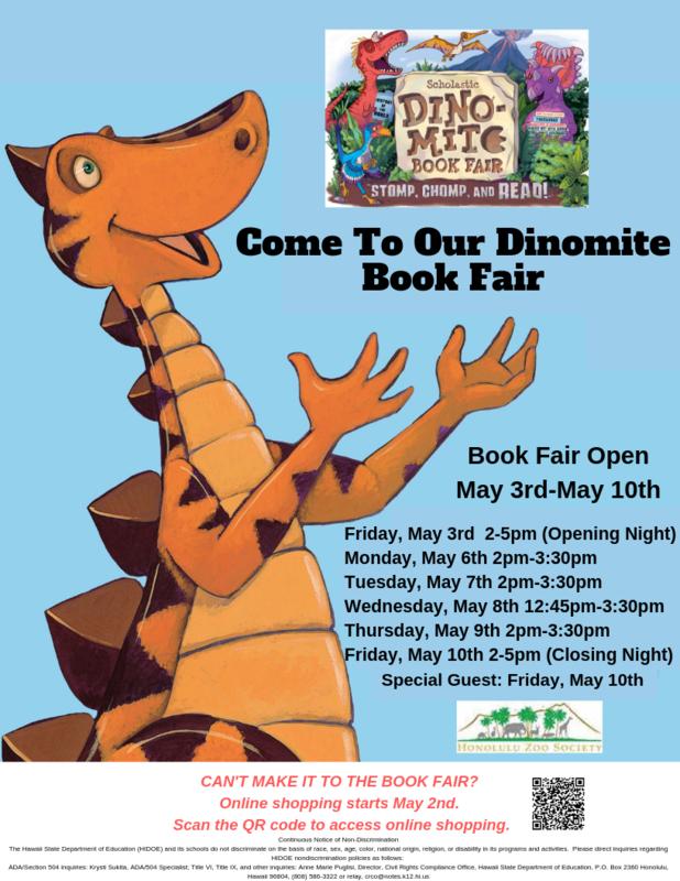 Scholastic Book Fair-May 3rd-May 10th Thumbnail Image