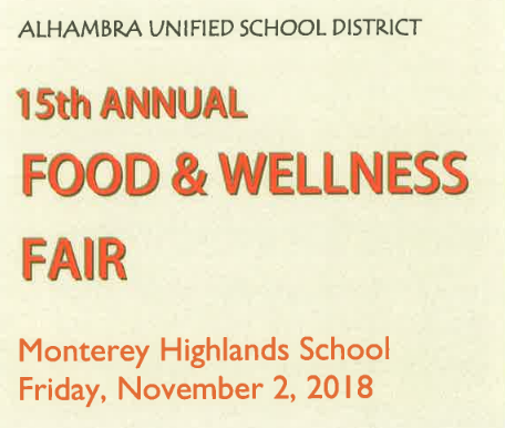 15TH ANNUAL FOOD AND WELLNESS FAIR Featured Photo