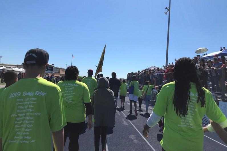 Special Olympics parade